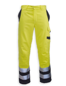 HB Hi-vis flame retardant Habetex Multisafe Pro and Arc trousers