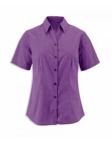 Alexandra women's woven colour short sleeved shirt