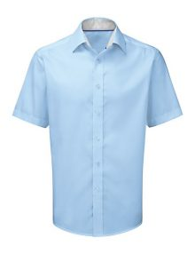 Alexandra men's short sleeve 100% cotton shirt