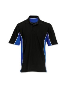 Alexandra contrast side panel polo shirt