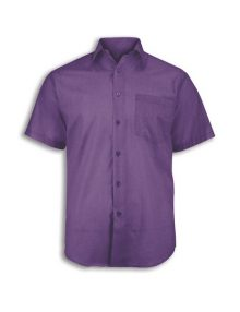 Alexandra men's woven colour short sleeved shirt