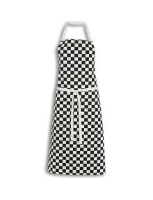 Alexandra big check chef's apron