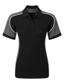 Alexandra Tungsten women's polo shirt